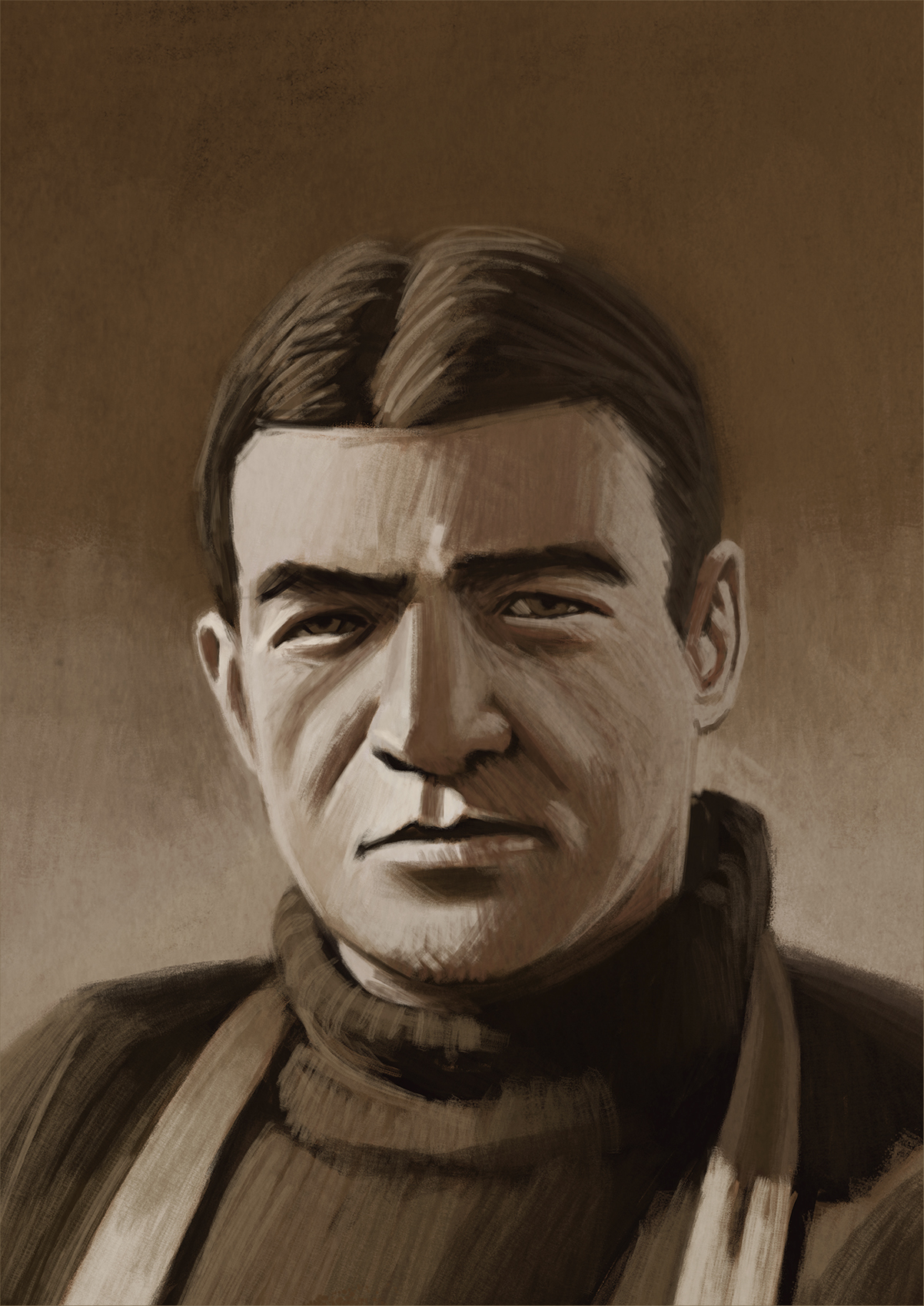 Sir Ernest Shackleton // leader